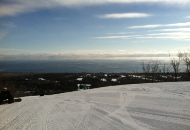 skiing was awesome this weekend, except for that -35 wind chill. great conditions but those tree runs are seriously icy.
