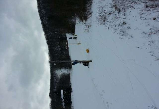 ahhh great day at the creek, actually had a little powder