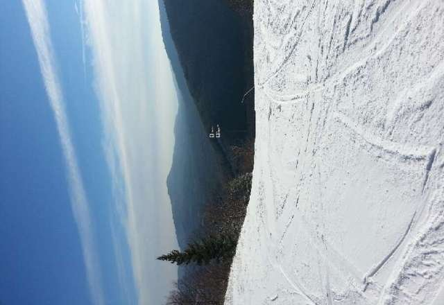12/12/12.... good powder top almost to the bottom.  maybe 60yrds of spotty ice and powder at the bottom.  They just opened the Belt. Over all good conditions. With BLC lift ticket was $24. Rock on!   @The_IanN