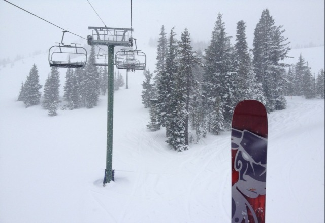 great day, its dumping!