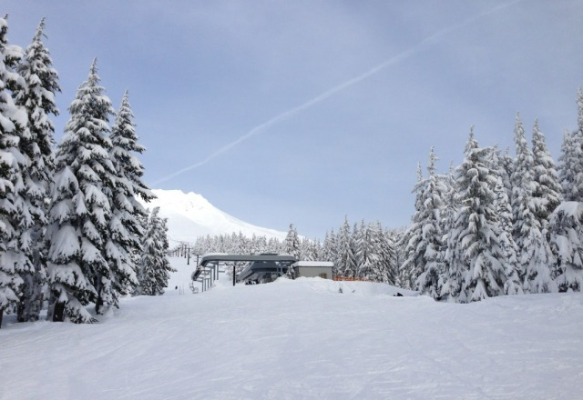 coming up a lift. can't remember which one. this was Friday, 12/28/12.