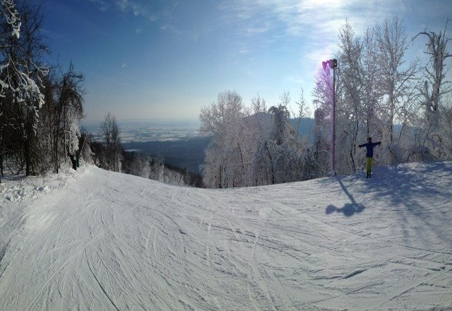 Great conditions today.