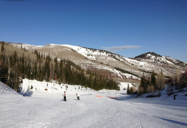 It's Spring Skiing. Still beats work.