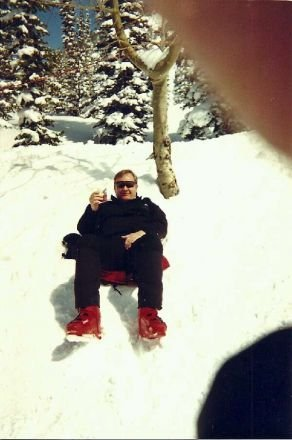 Fresh pow and rum n cokes back in '96