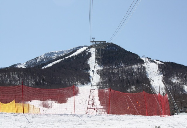 Great spring skiing conditions Sat & Sun. Trails still in very good shape
