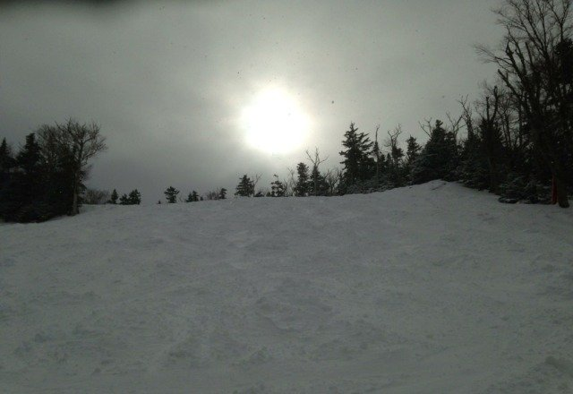 wow is all I can say...took 9 runs and beside some sparse windblown stumps it was powder in the crotch all day!