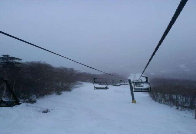 such long lines today bahahaha, conditions fast, really really fast :)