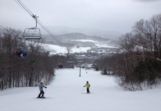 awsome skiing today!