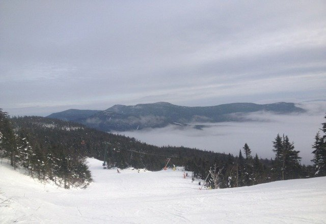 nice day out, not busy. groomed snow in great condition.