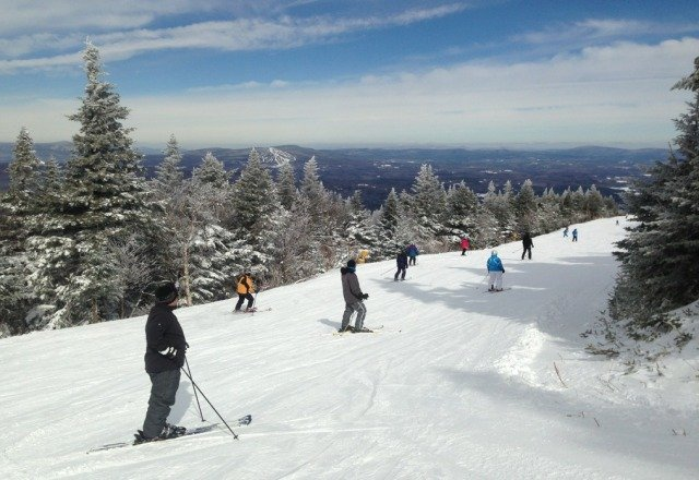 Awesome day trails were well groomed.