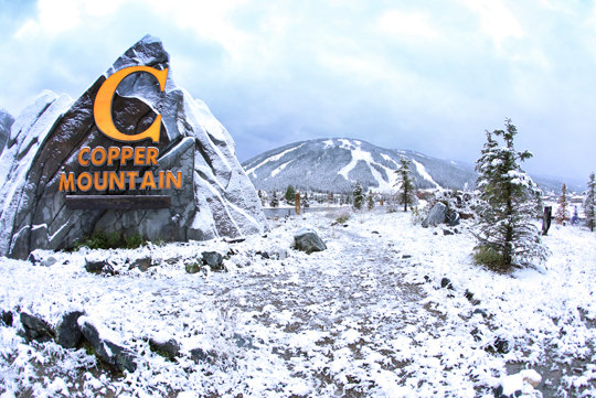 First snow at Copper