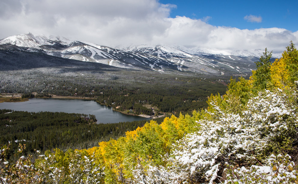 It's only September, and Breck already looks prime to ski - ©Liam Doran