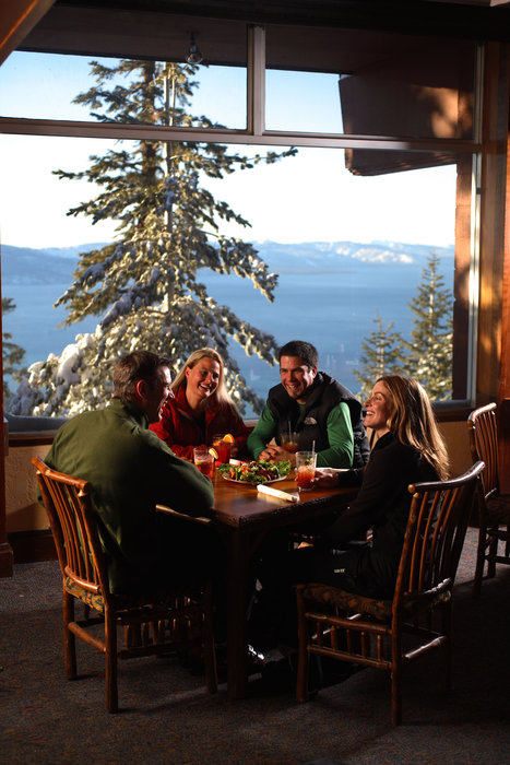 Food and Beverage shoot at Heavenly Mountain Resort. Lake Tahoe, California / Nevada.