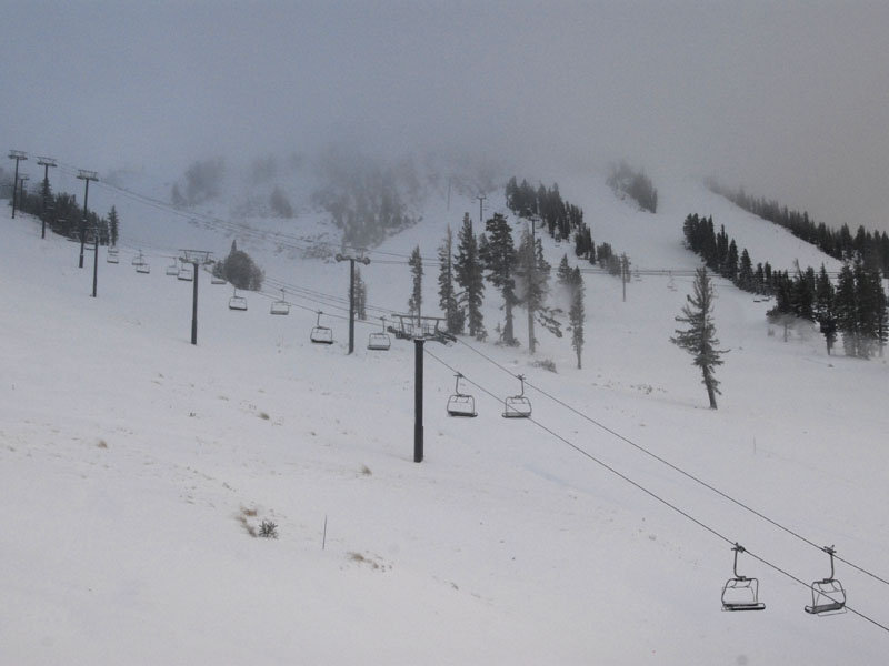 2008 opening day, Mammoth Mountain, California