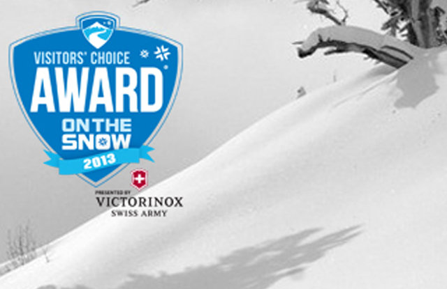 The 2013 Visitors' Choice Awards Presented by Victorinox