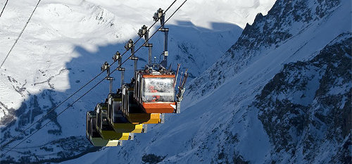 Best ski lifts: the gondola in the French resort of La Grave takes you to a challenge you'll never forget.