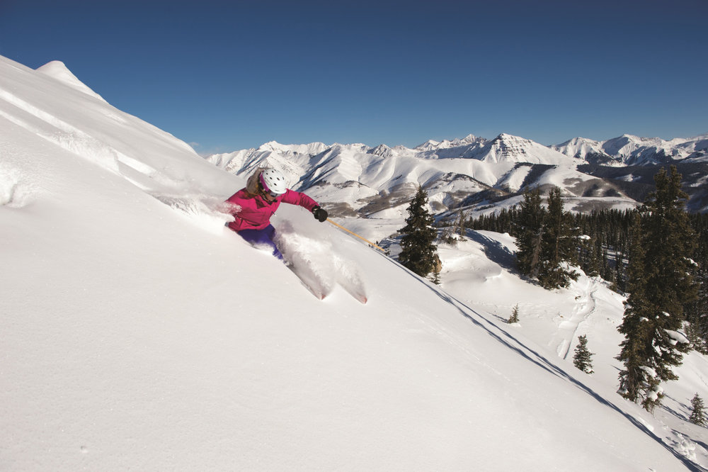 Powder days are the best days at Crested Butte Mountain Resort. - ©Courtesy of Crested Butte Mountain Resort.