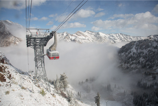 Snow falls as ski season nears