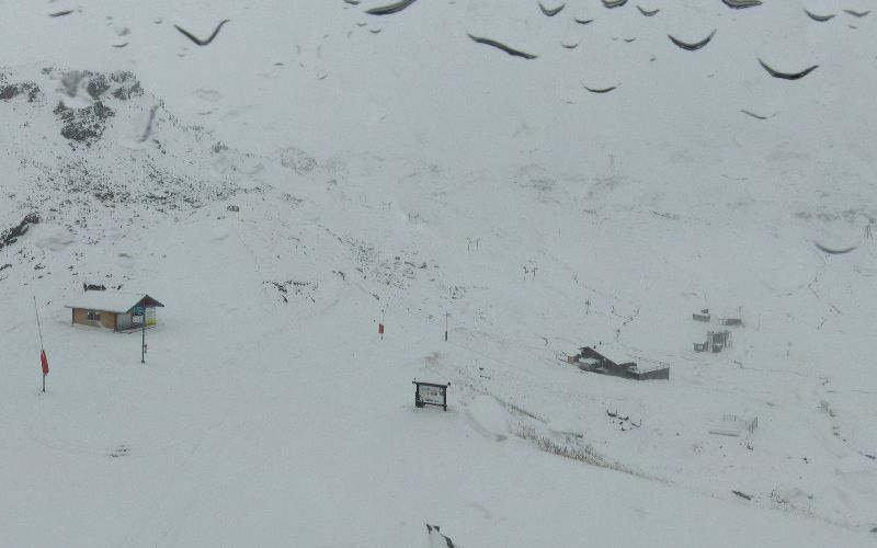 Snow in Val Thorens Nov. 4, 2013