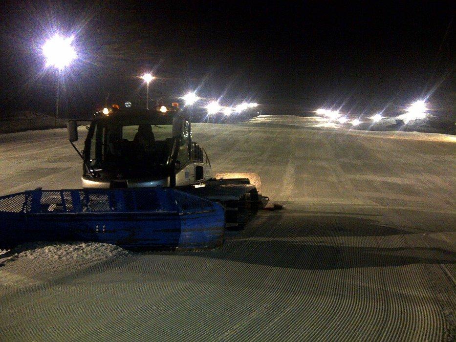 Ski areál Hlubočky - night skiing - ©Ski areál Hlubočky