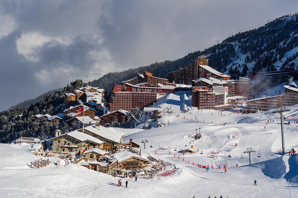 Le front de neige des Arcs 2000 - ©Andyparant.com