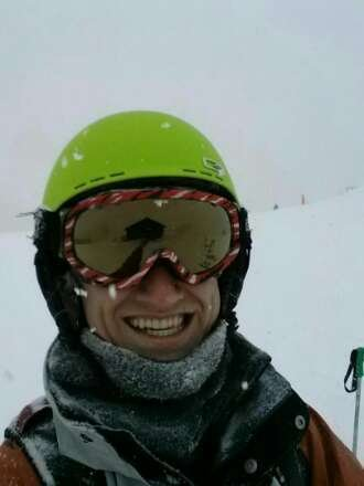 this much snow will make you smile like this!