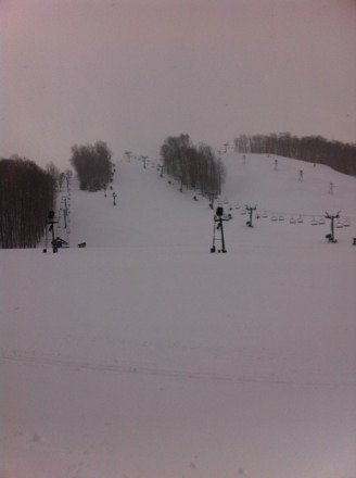 More snow to come! Get out and ski!!