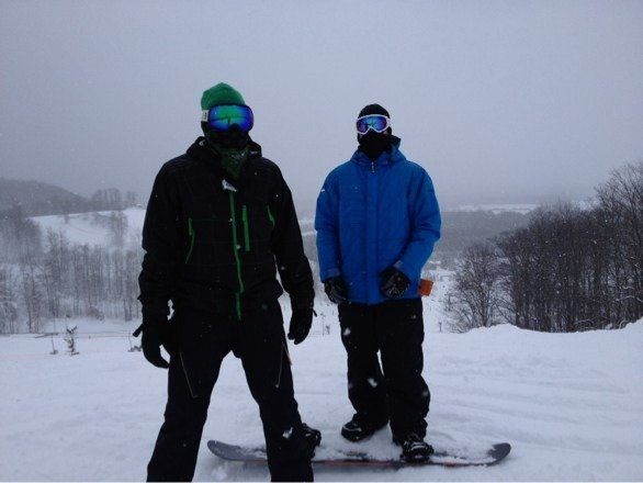 Awesome day at Crystal!