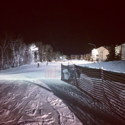 Great night on the slopes, little icy in some spots but it's great! North face is open tomorrow and they have been making toons of snow!