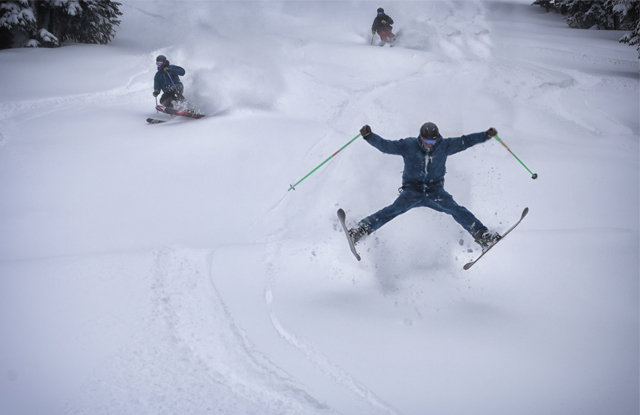 Spread Eagle at Copper. - ©Tripp Fay