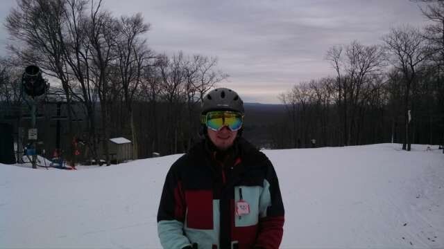 Awesome conditions at JF on Friday with my son. Thanks to Mother Nature!