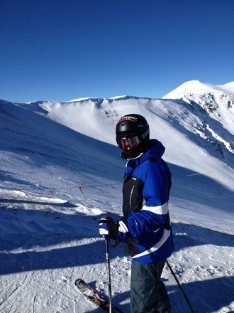 Incredible skiing at Breckenridge!