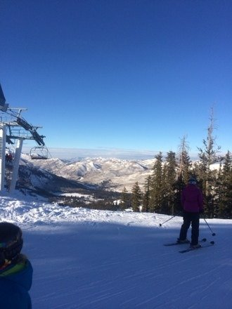 Enjoyed another great afternoon of skiing at Brighton on 12/28. Packed powder & blue skies. Can't wait to come back!