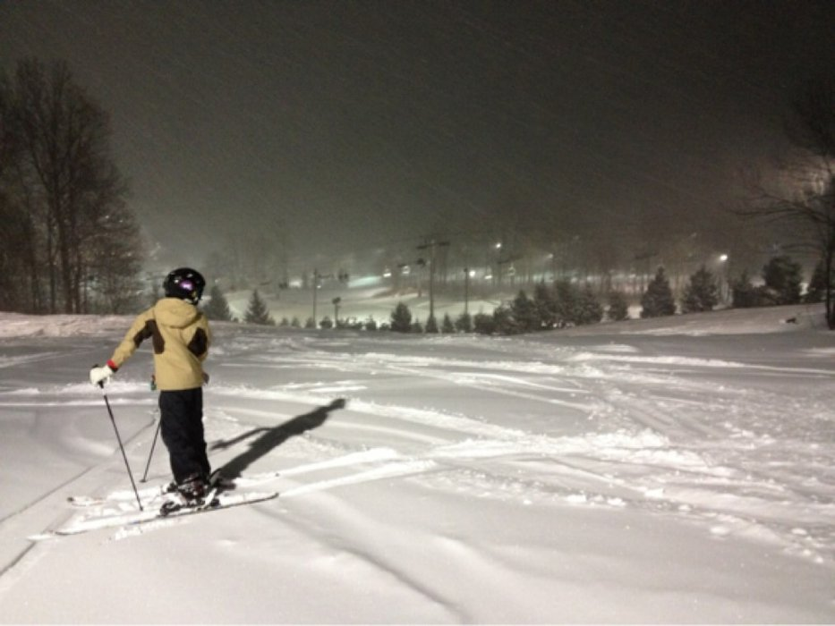 Last night was best skiing in a long time at Bear. Great powder, look forward to all 21 of 21 opening this weekend.