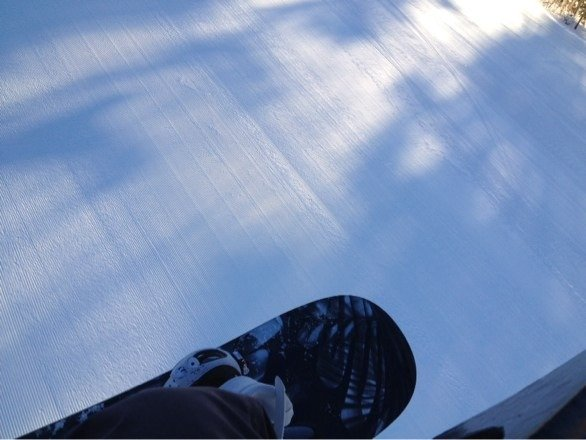 Sick day at mt.snow, couldn't have had a better time
