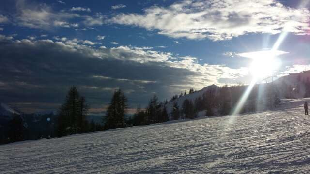 recent snowfall has left the pistes in good shape.  Most lifts and runs are open.