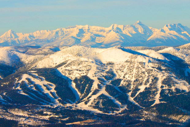 Whitefish Mountain Resort perches just outside the rugged peaks of Glacier National Park.