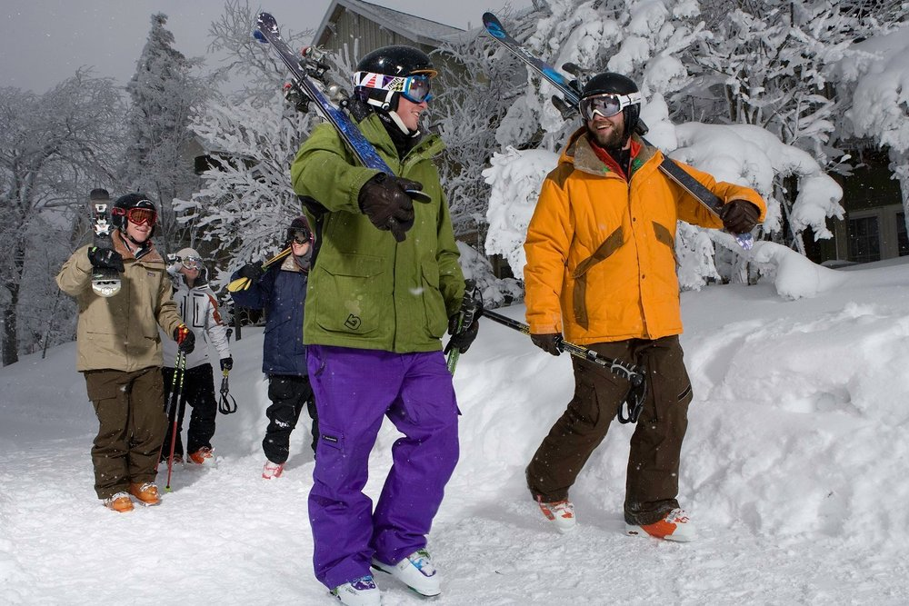 Enjoy your pick of great days on snow with Snowshoe's 3 For All pass. - ©Snowshoe Mountain Resort