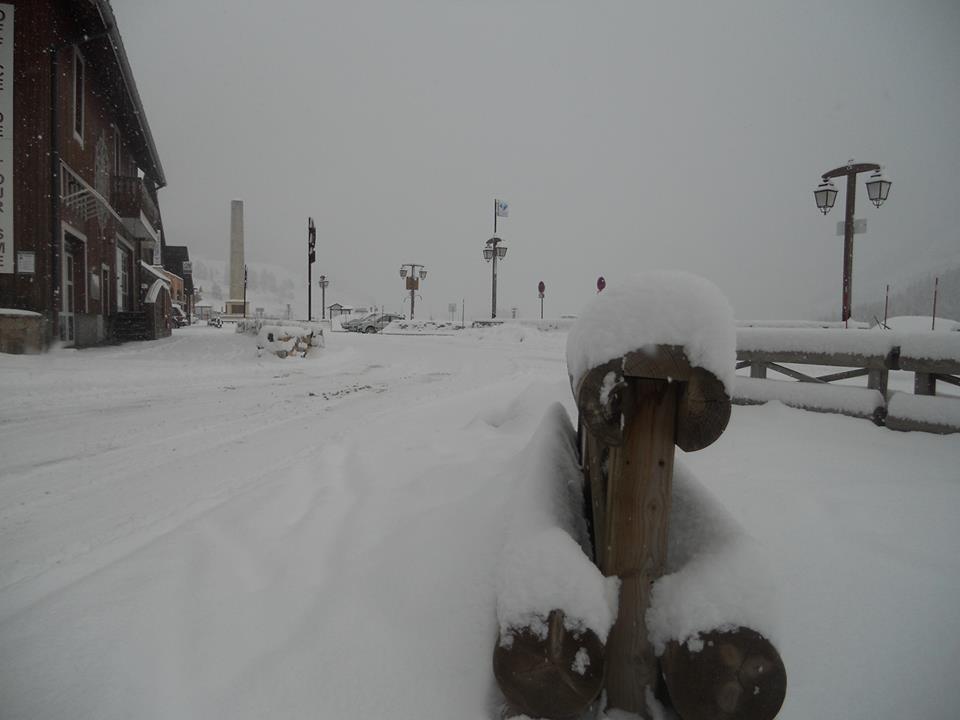 Snow in Montgenèvre Nov. 15, 2013