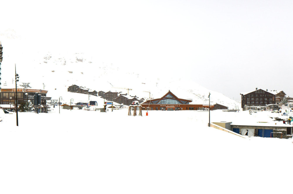 Snow in Tignes Nov. 15, 2013