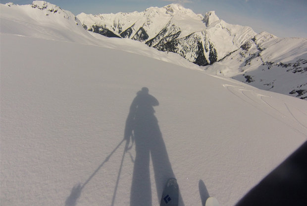 STHS has incredible alpine glacier powder skiing.