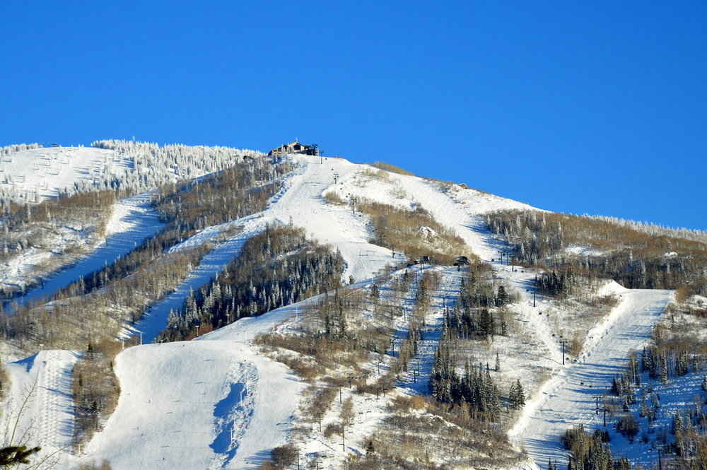It's a Bluebird Day in Steamboat Springs. - ©Photo courtesy Shannon Luthy Lukens.
