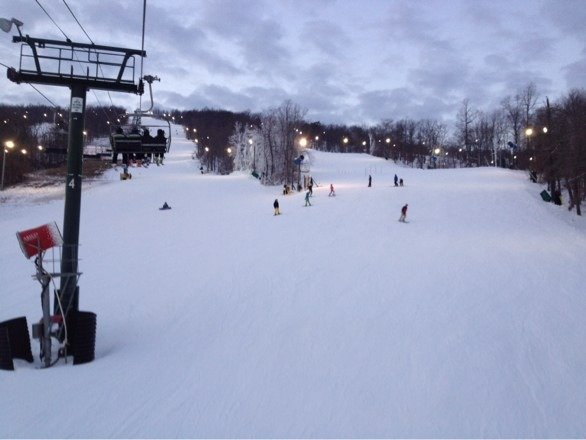 Great night at Whitetail ! Love night skiing. No lines, few people, good runs.