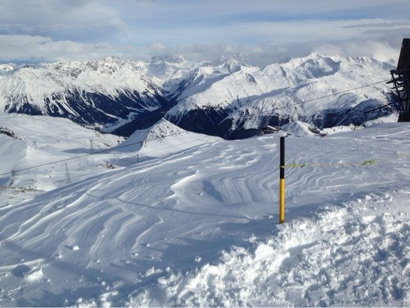 Davos Parsenn on 18.1.2014  Excellent conditions