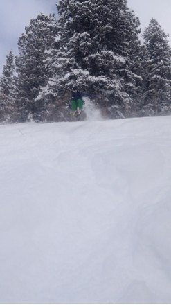 Saturday was a great day! So much powder! Haven't had that much fun in a long time!