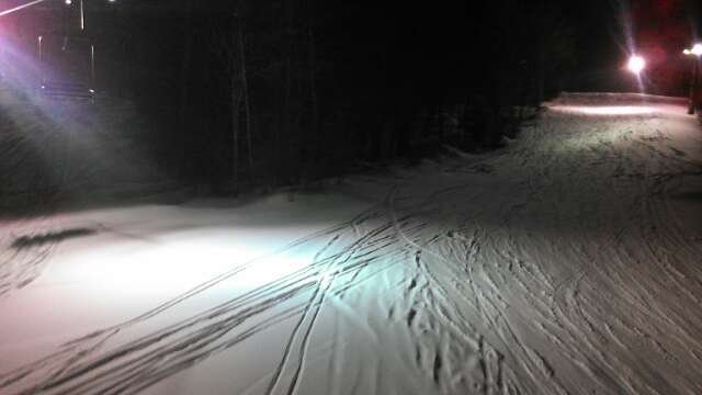 pow night riding!