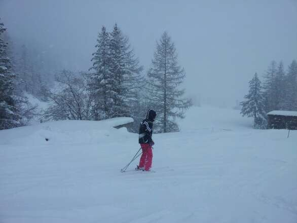 Friday. Val Cenis got 30cm fresh snow till noon ans still keeps falling.
