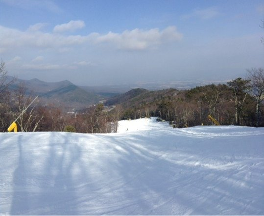 Great day to ski.
