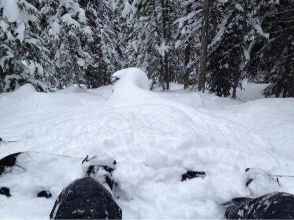 Amazing powder conditions at aspen highlands. Snowed all day yesterday. The bowl is the place to be.