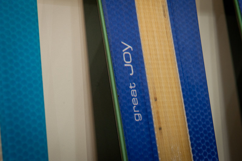 HEAD's latest Joy collection of women's skis is aptly named.  - ©Ashleigh Miller Photography